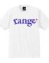 range logo s:s tee 白正