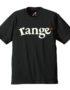 range logo s:s tee 黑正